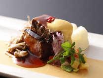 季節の料理一例~『和牛の炙り』~