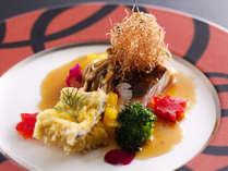 季節の料理一例~『黒鯛のムニエル』~