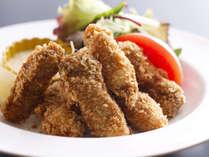 季節の料理一例~『浦村牡蠣のフライ』~