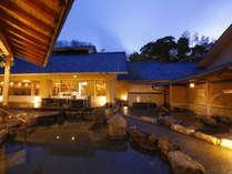 男性大浴場露天『外の宮』