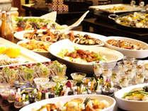 夕食は会席とビュッフェを併せた、新感覚!おとなビュッフェ ※イメージ