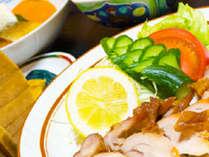 【夕食一例】その日の食材を使った日替わり定食