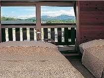 磐梯山が見える部屋