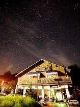 肉眼でもきれいに見える標高900mの星空