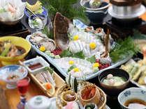 ◆地魚いっぱい会席◆(一例)ヒラメ4人盛り/日によって変わります。