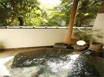 医師お勧めの源泉をふんだんに使用した八角露天風呂