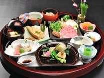 【春】素材の旨み!ほろにが春野菜を使用した会席一例
