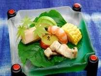 【夏】前菜一例
