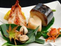 【秋】前菜一例
