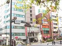 水戸駅前銀杏坂にある大変便利なホテルです。