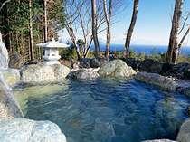 海一望絶景の貸切露天風呂