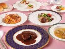 天使の鐘洋食フルコース全七品+デザート三点盛