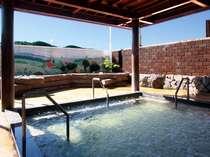空知地区では珍しいジャグジー付き露天風呂です。男女共に爽快です。