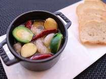 魚介のアヒージョ※写真はイメージです。