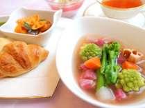 春の息吹 菜の花と10種雑穀の食べるスープセット ※写真はイメージです。