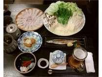 【夕食+Quoカード(1,000円)付きプラン】Aコース(6品)