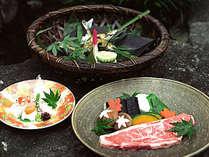◆口の中で肉の旨みが広がる豊後牛ステーキ/一例
