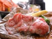 【但馬牛の陶板焼き】地元の名牛「但馬牛」の陶板焼き
