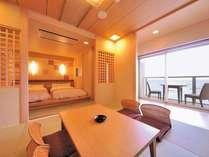 【プレミアムルーム】コンセプトルームで過ごす癒しの時間、茨城が誇る海・郷の恵みを堪能/風和でのお食事
