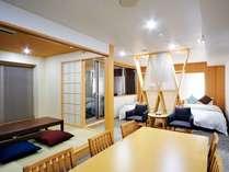 【GW(ゴールデンウィーク):スイートルーム】上質なお部屋で、料理長が贅を尽くした茨城の食材を頂く