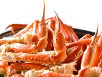 バイキングコーナー人気料理:蟹の食べ放題!