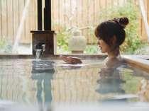 露天風呂棟「湯喜望殿」 檜の香りに包まれて・・・