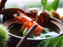 香り豊かな松茸を「土瓶蒸し」でどうぞ♪「えん」チョイスメニューには9月上旬~11月上旬まで