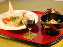 ◆料理長のこだわり珠玉の6品〜創作料理「雅」◆旬の食材を活かした逸品に舌鼓♪