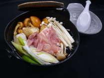 ◆当館オリジナル『飛騨の山里鍋』でほっこりのくとまろう◆◎◎◎秋冬限定プラン◎◎◎