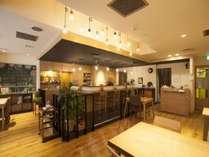 2階朝食会場(7時~9時半)11時~カフェとしてご利用頂けます。