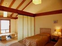 天井が高く、開放的な間取りの和洋室(一例)