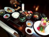 期間限定!季節の食材を用いた「彩膳」は計7品。旬の地魚やお肉料理もご堪能頂けます