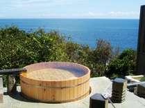 思わず息を呑むような絶景の野天風呂では開放感を味わって!