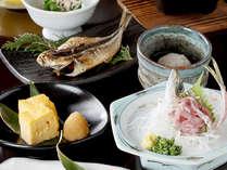 磯の香漂う「海」の和朝食(一例)