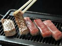 【贅沢グルメプラン】= 贅沢食材のよくばりコラボ! =『 厳選飛騨牛ステーキ&活鯛しゃぶ 』