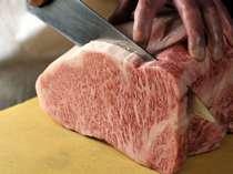 ご当地飛騨で食べるなら、やっぱり飛騨牛!厳選されたものを使用(一例)