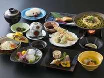 【夕食】京会席 フルコース 10品