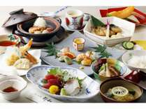【夕食】当館人気フルコース(9品)