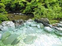 露天風呂『眺めと湯の香り』