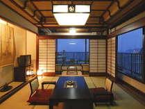【お部屋一例】歴史と格式に加え和モダンを備えたメゾネットタイプの2階部分にあるゆとりの和室