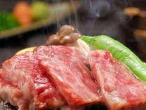 「和牛の陶板焼き」 お口に広がるジューシーで上質な風味!