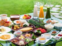 【 朝 食 】東北で育った美味しい野菜で四季を味わう朝食ブッフェ