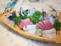 地魚のお刺身船盛り