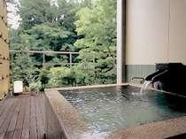 【露天風呂客室】『風のお風呂』川の音を聴きながら