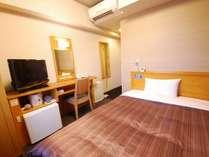 ◆シングルルーム◆客室面積約10平米 140cm幅ベッド<H28年10月改装>