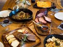 HYTTER GRILLED DINNER(一例)