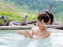 お肌スベスベ硫黄含有量日本一の超高濃度硫黄泉!