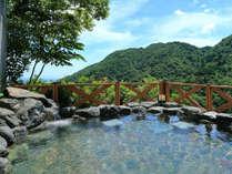 ■露天風呂■天気が良い日は名古屋が一望できる露天風呂