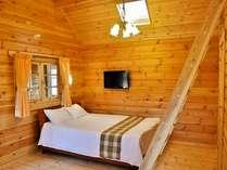 お部屋の一例、この上にはロフトもあります(部屋定員6名)