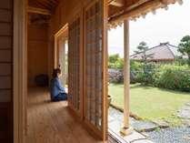*【だいばん屋<152㎡>】心地よい島風に吹かれながら、縁側でのんびりお過ごしください。